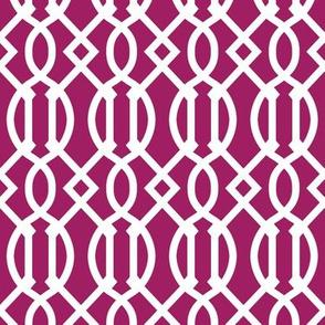Berry Purple Trellis