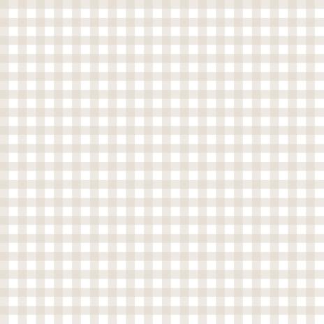 Linen Beige Gingham fabric by sweetzoeshop on Spoonflower - custom fabric