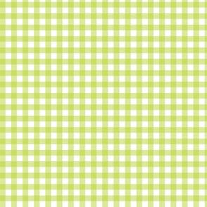 Apple Green Gingham