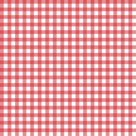 Red Gingham fabric by sweetzoeshop on Spoonflower - custom fabric