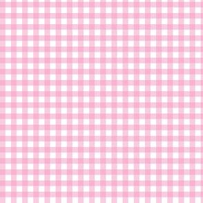 Bubblegum Pink Gingham