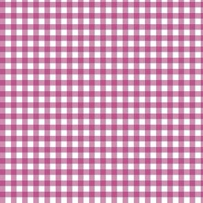 Berry Purple Gingham