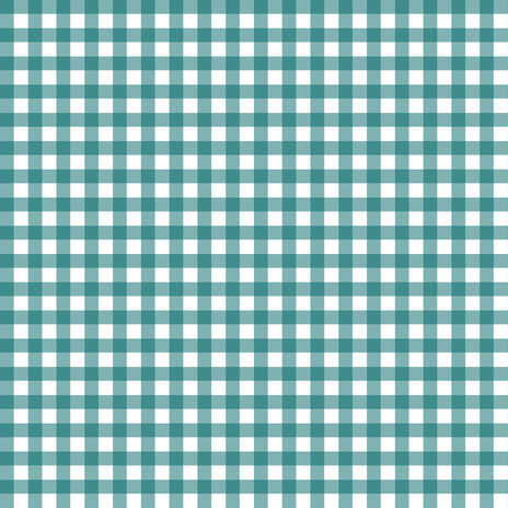 Dark Teal Gingham fabric by sweetzoeshop on Spoonflower - custom fabric