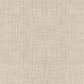 Beige Linen Solid