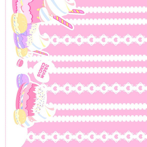 Birthday Macaron: Pink