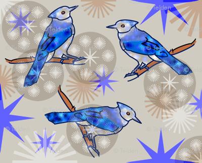 Bluejays - Beige