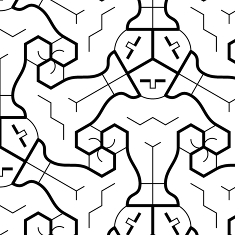 01758086 : superhero 3m : outline fabric by sef on Spoonflower - custom fabric
