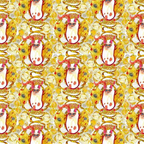 """Nouveau Again"" fabric by lionmanye on Spoonflower - custom fabric"