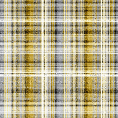 Plaid in gold and gray