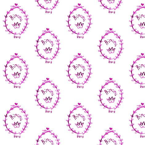 cestlaviv_for prince or princess fabric by cest_la_viv on Spoonflower - custom fabric