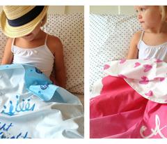 cestlaviv_Custom Monogram Baby Blanket cheater