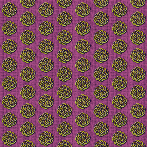 knots_-_violets fabric by glimmericks on Spoonflower - custom fabric
