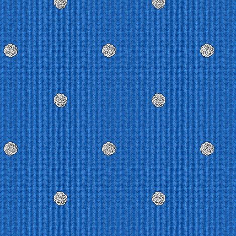 fairy_dots_2_on_blue fabric by glimmericks on Spoonflower - custom fabric