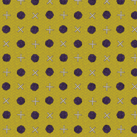 fairy_dots_on_mustard fabric by glimmericks on Spoonflower - custom fabric