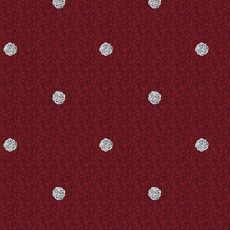 fairy_dots_2_on_red fabric by glimmericks on Spoonflower - custom fabric