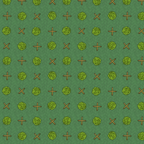 fairy_dots_on_green fabric by glimmericks on Spoonflower - custom fabric