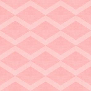 Pink Linen Diamonds