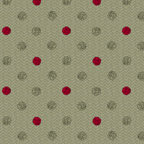 fairy dots 3 good to be the king fabric by glimmericks on Spoonflower - custom fabric