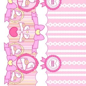 Carousel Alpacas: Pink