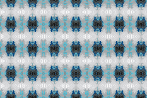Frosty Arbor - Grays and Blues fabric by telden on Spoonflower - custom fabric