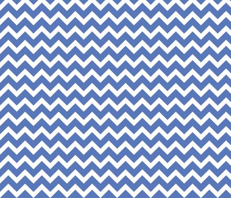 Royal blue chevron fabric sweetzoeshop spoonflower for Blue chevron wallpaper