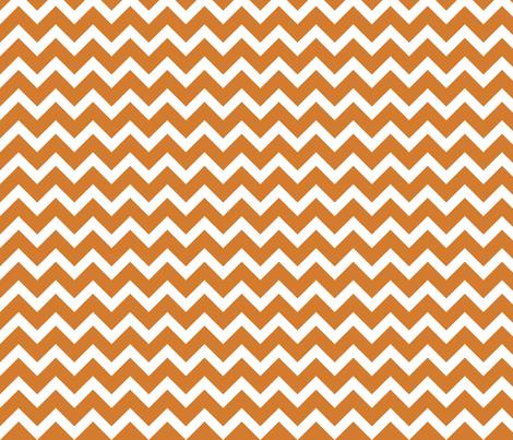 Orange Chevron Wallpaper