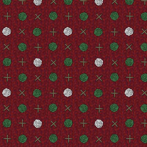 fairy_dots_Christmas fabric by glimmericks on Spoonflower - custom fabric
