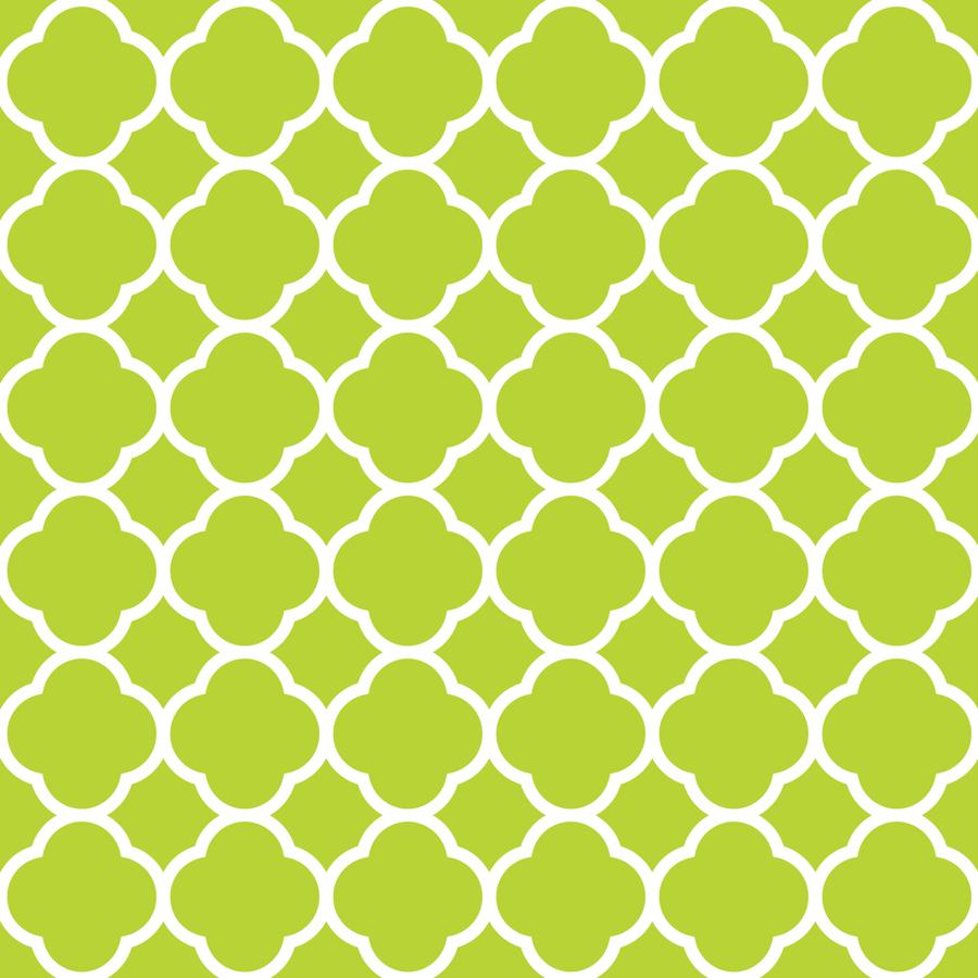 apple green quatrefoil wallpaper  sweetzoeshop  spoonflower -