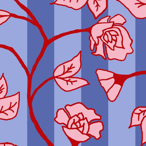 Roaming_flowers_2_-_Square_repeat_-_Blues_-_New_copy
