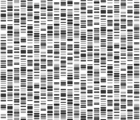 DNA Print fabric by bonnie_phantasm on Spoonflower - custom fabric