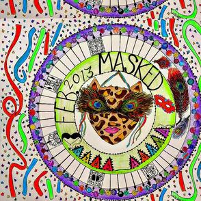 Mardi Gras Masked Partytime
