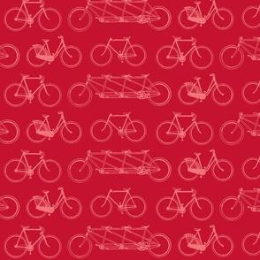 bikes-pink on pink[ish]