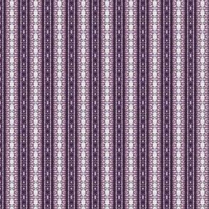 Purple Striped Lace