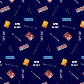 Bad Wolf Blue