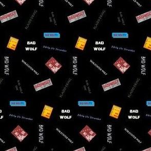 Bad Wolf Black