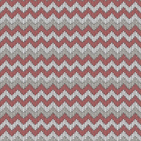 inuit chevron whale bacon fabric by glimmericks on Spoonflower - custom fabric
