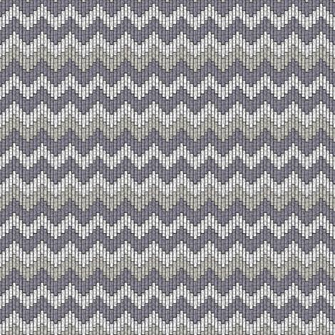 inuit chevron smoke fabric by glimmericks on Spoonflower - custom fabric
