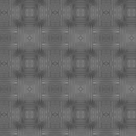 Grey Fractal Weave Small © Gingezel™ 2013 fabric by gingezel on Spoonflower - custom fabric
