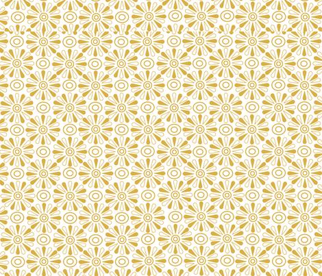 Flower Power fabric by marfran on Spoonflower - custom fabric