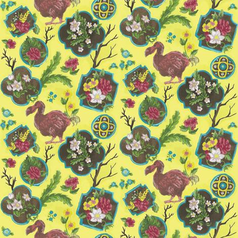 Dodo Paradise fabric by shirayukin on Spoonflower - custom fabric