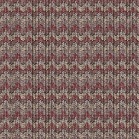 inuit chevron grandmas afghan fabric by glimmericks on Spoonflower - custom fabric