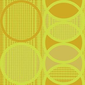 Circling Around - mustard solar