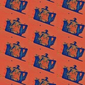 Pullman Teapot In Blue