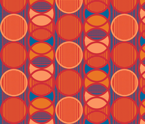 Circling_around_firewalker fabric by glimmericks on Spoonflower - custom fabric