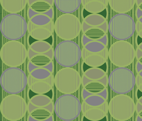 Circling_around_leaf_rings fabric by glimmericks on Spoonflower - custom fabric