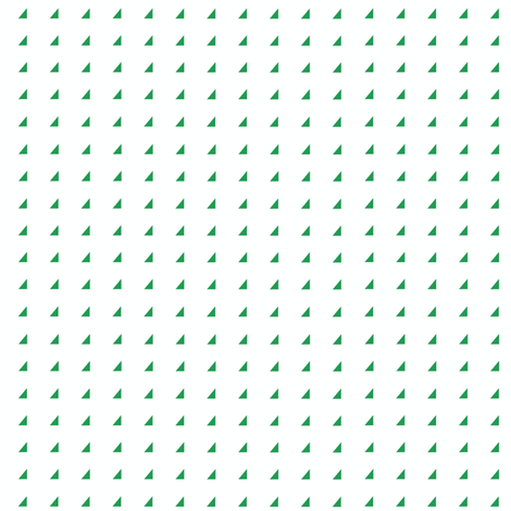 Tiny Triangles - Kelly green on white fabric by little_fish on Spoonflower - custom fabric