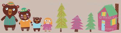 Goldilocks & The Three Bears Stripe