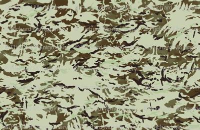 1/6 Scale Multi Terrain Pattern 'MTP' Desert Variation Camo