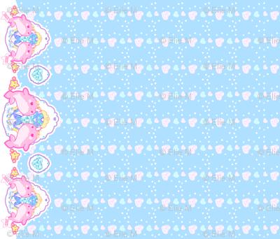 Princess Narwhal: Blue