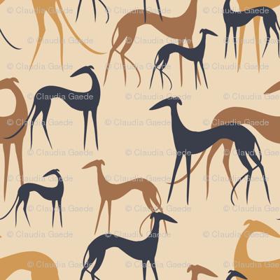 Sighthounds desert